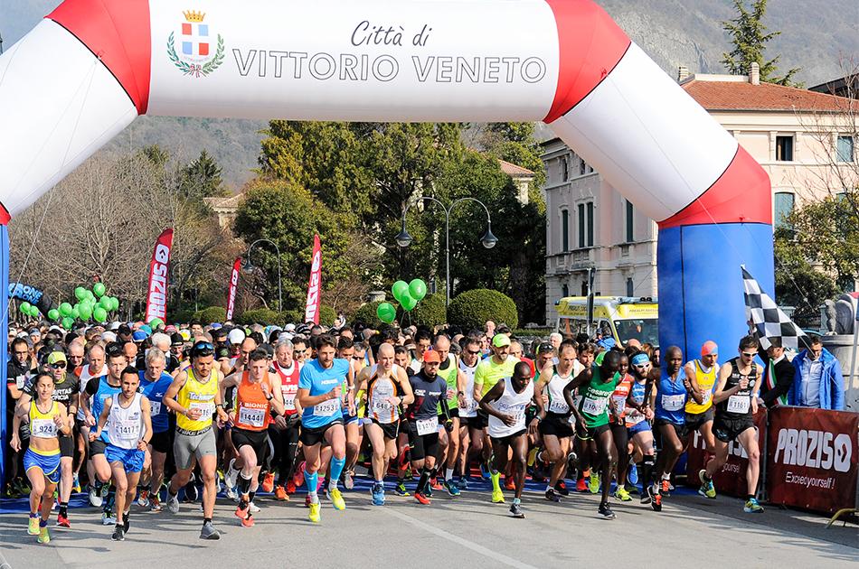 sesta maratonina della vittoria a vittorio veneto